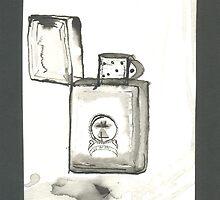 My  favorite Zippo lighter -Still life by RootRock