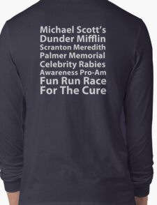 Dunder Mifflin Fun Run Long Sleeve T-Shirt