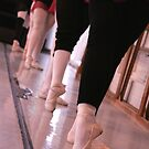 Ballet. Barre. Tendu by Ruth Smith
