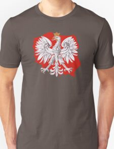 Polish Eagle Poland Outline Unisex T-Shirt