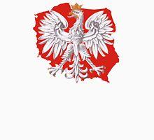 Polish Eagle Poland Outline Unisex T-Shirt