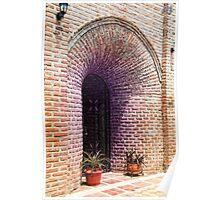 Brick Arch Entrance Poster