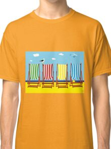 DECKCHAIRS with GULL Classic T-Shirt