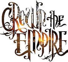 """Crown The Empire """"The Fallout"""" Logo by SupremeRedditor"""
