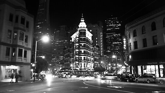 Columbus and Kearny (San Francisco) by Arjuna Ravikumar
