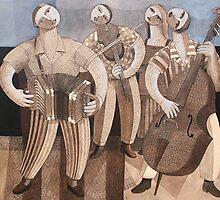Cajun Players by Felix Berroa