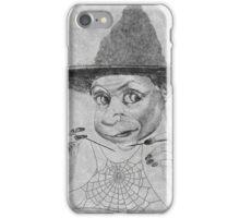 Witch Spiderweb  iPhone Case/Skin