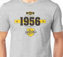 Born in 1956 (Choco&Yellow) Unisex T-Shirt