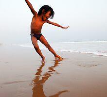 Dancing on the Beach by PeterDamo