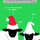 Brian & Beryl - 'The Christmas Hat Hair' by hennydesigns