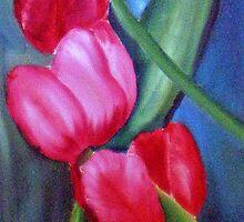Tulips by Gerda  Smit