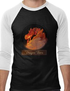 Dragon Born Men's Baseball ¾ T-Shirt