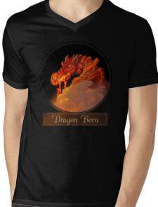 Dragon Born Mens V-Neck T-Shirt