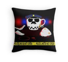 The Cop Throw Pillow