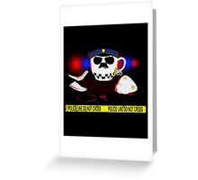 The Cop Greeting Card