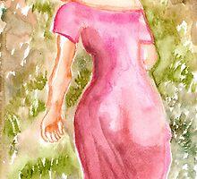 Pink Dress by roza50