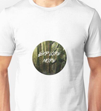 Explore More - 20150001 Half Bear Unisex T-Shirt