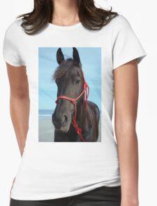 Friesian at the beach T-Shirt