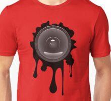 Grunge Audio Speaker Unisex T-Shirt