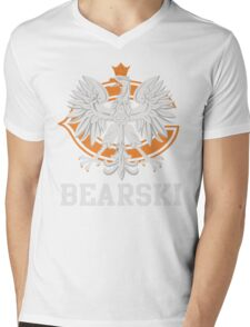 Chicago Polish Bearski  Mens V-Neck T-Shirt