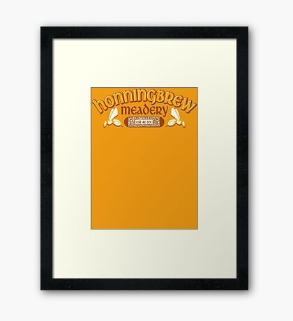 Honningbrew Meadery Framed Print