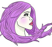 Lavender Wind by laceyyyy