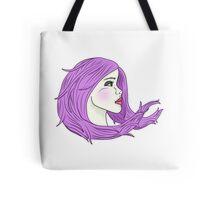 Lavender Wind Tote Bag