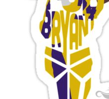 Kobe Bryant from the Lakers Sticker