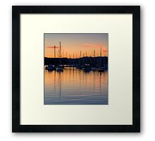 Colour Reflections - Newport, Sydney - The HDR Experience Framed Print