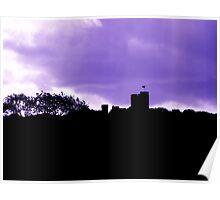 Peckforton Castle Hill Poster