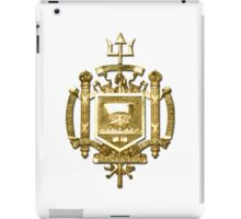 USNA Seal iPad Case/Skin
