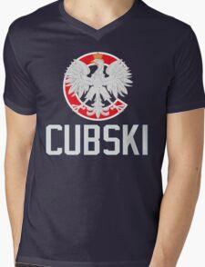 Chicago Polish Cubski Fan Mens V-Neck T-Shirt
