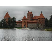 Castle of TRAKAI, gate Photographic Print