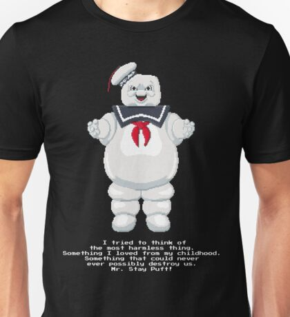 Stay Puft - Ghostbusters Pixel Art Unisex T-Shirt