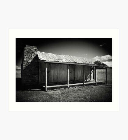 pioneer's abode Art Print