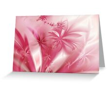 Light Pastel Flowers Greeting Card