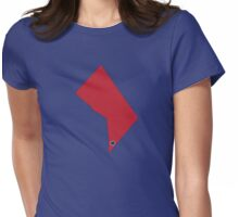 Home Sweet Washington, D.C (Baseball) Womens Fitted T-Shirt