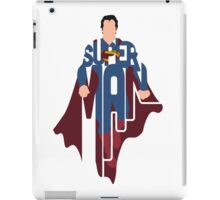 Superman, The Man Of Steel iPad Case/Skin