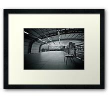 Makassan station Framed Print