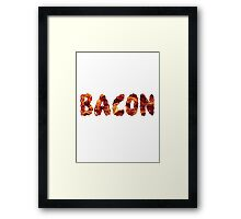 A Bacon Lover's Intervention Framed Print