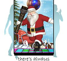 Christmas Card - Always Time For Clubbing by Moonlake