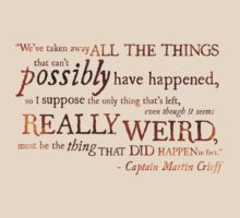 Captain Martin Crieff - Really Weird Things by Ashton Bancroft