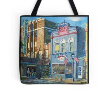 Downtown West Bend Tote Bag
