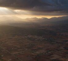 Spotlight on the Tramontana Mountains by Kasia-D