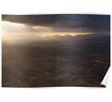Spotlight on the Tramontana Mountains Poster