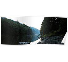 Classic river scenes #7  NF Stillaguamish River  Poster