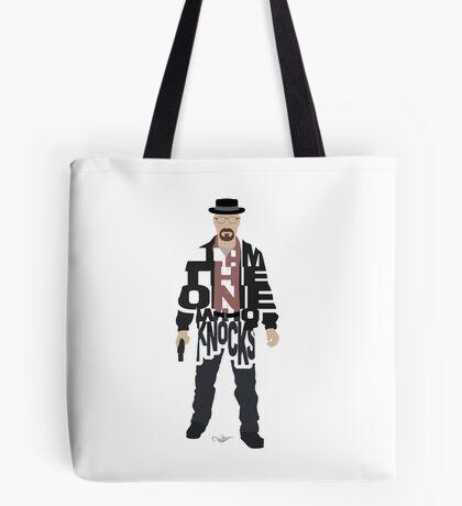 I Am The One Who Knocks Heisenberg Tote Bag