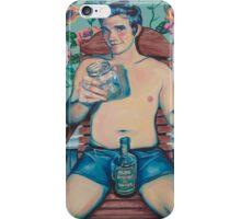 Southern Gentlemen Pin up iPhone Case/Skin