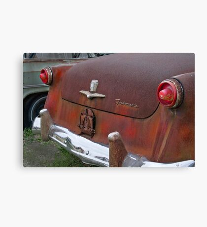 1954 Ford waiting for a new home Canvas Print