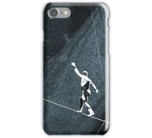 I Walk The Line iPhone Case/Skin
